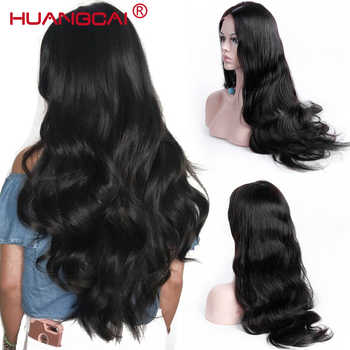 Lace Frontal Human Hair Wigs For Women Brazilian Body Wave Lace Frontal Wig Pre Plucked With Baby Hair Remy Hair Black - DISCOUNT ITEM  60 OFF Hair Extensions & Wigs