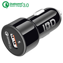 Car Charger USB 3.0 Fast Charging Cell Phone Charger Cigarette Power Adapter Travel Adapter Cigar Car-Charger for phone(China)