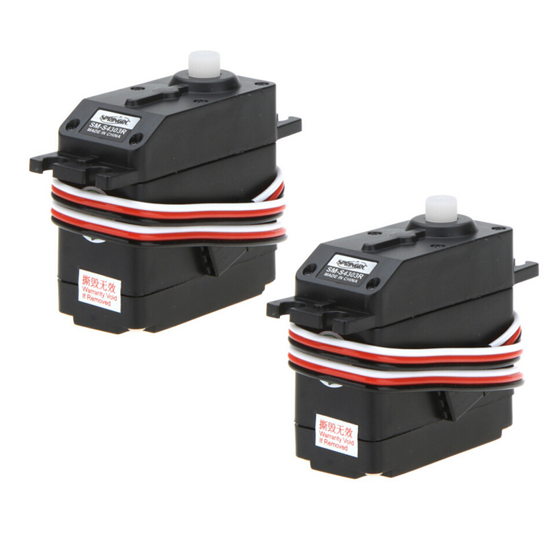 2pcs/lot Original SpringRC SM-S4303R Large Continuous Rotation 360 Degree Plastic Micro Servo Motor For Robot RC Part Wholesale