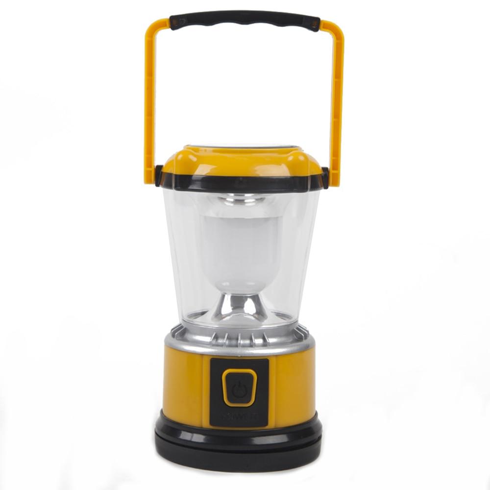 12 Pz/lotto Portatile Led Per Esterni Da Campeggio Lanterna Usb Lanterna Di Campeggio Solare Ricaricabile Ha Condotto La Luce Della Tenda Per Esterno