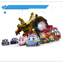 Original box Robocar Poli Korea kids Police Car Union Toys Robot Transformation Anime Action Figure Toys For Children Playmobil