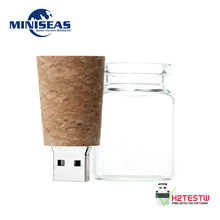 Miniseas Usb Flash Drive Romantic Bottle 8G 16G 32G 64G Real Capacity Memory USB stick Pen Drive Pendrive For PC