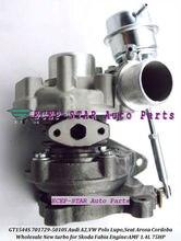 GT1544S 701729-5010S Turbo Turbine Turbocharger For AUDI A2,For VW Polo Lupo,For SEAT Arosa Cordoba,SKODA Fabia 1999-05 AMF 1.4L