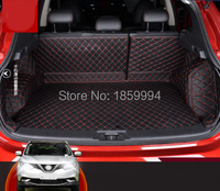 For 2014 2016 NISSAN QASHQAI J11 Rear Tail Car Trunk Mat Durable Boot Carpets