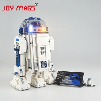 JOY MAGS Led Light Up Kit For Star war 10225 R2-D2 Compatible With 05043 35009 , (NOT Include Building Blocks Model) image