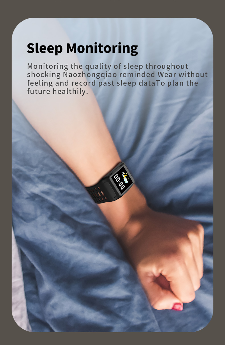 ALANGDUO Z01 Smart Watch Color Screen Smart Wristwatch Big Dials Heart Rate Monitor Micro sensor Waterproof Smart Watch Bracelet (11)