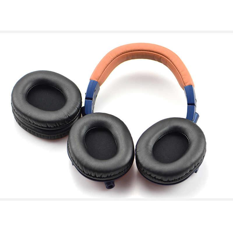 غطاء رأس لسماعة رأس بديلة من LEORY لـ Audio Technica for ATH-M50X M30X M40X غطاء رأس واقي لسماعة الرأس
