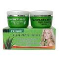 Aloe oro para blanquear anti cicatriz y la anti peca cuidado de la piel nutritiva crema para la cara