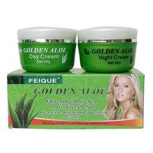 golden aloe whitening anti-scar and anti -freckle nourishing skin care face cream цена и фото