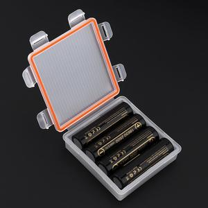 Image 3 - 5pcs/lot Soshine Hard  Portable Plastic Case Holder Storage Box with Waterproof IP66 for 4x 18650 Batteries