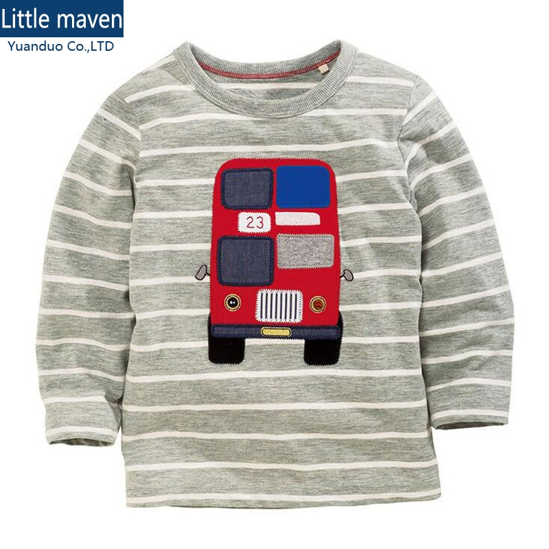 baby clothes t shirts for boys kids t shirts boy Gray stripe long sleeve T-shirt tops boys bus design gray funny t shirts boys fashion long sleeve o neck t shirt 2017 new arrival men t shirts tops tees men s cotton t shirts 3colors men t shirts m xxl