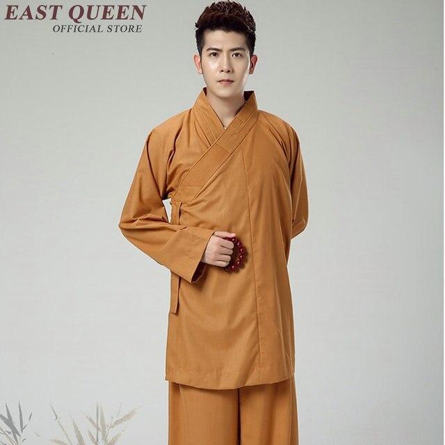 Стандартная буддийская одежда для монахов, традиционная китайская буддийская одежда KK1601 H