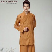 Budist keşiş elbiseler budist keşiş giyim geleneksel çin budist giyim KK1601 H