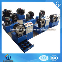 BNT68 Semi Auto Hydraulic High Pressure Hose Swaging Machine For Sale