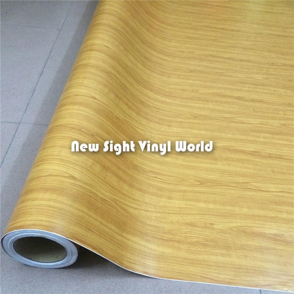 Feuille de vinyle en bois de palissandre Texture GRAIN de bois feuille de vinyle autocollant feuille de décalcomanie décoration d'interier sans bulle taille: 1.52X20 m/Roll