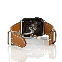 FOHUAS Series 2 1 Genuine Leather Loop For Apple Watch Band Double Tour 42mm For Apple