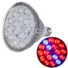 LED Grow E27 54W Grow Light 14Red:4Blue 85~265V Full Spectrum Indoor Plants Lamp For Flower Seedling Hydroponic System Tent
