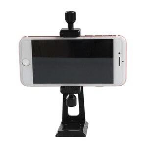 Image 5 - Réglable trépied montage adaptateur Vertical 360 Rotation téléphone tondeuse support pour iPhone X 8 7 Huawei Samsung