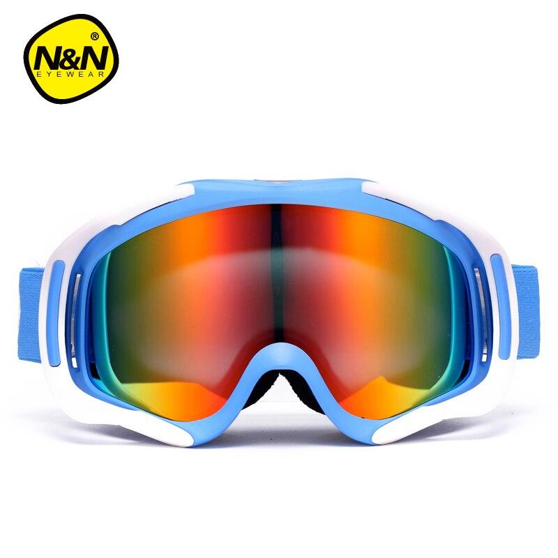 Prix pour NANDN Nouveau Double Couche Grand Lentille Ski Lunettes de Ski Lunettes Lunettes Snowboard Lunettes Hommes Femmes Neige Ski Googles NH8004