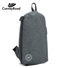 CARNEYROAD Oxford Fabric Crossbody Bags For Men Messenger Anti Theft Chest Bag Waterproof USB Charging Shoulder bags(China)