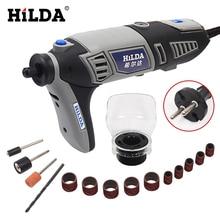 HILDA 220 V 180 Watt Variabler Geschwindigkeit für Dremel Elektrische Mini Bohrer mit Flexible Welle und 133 stücke zubehör