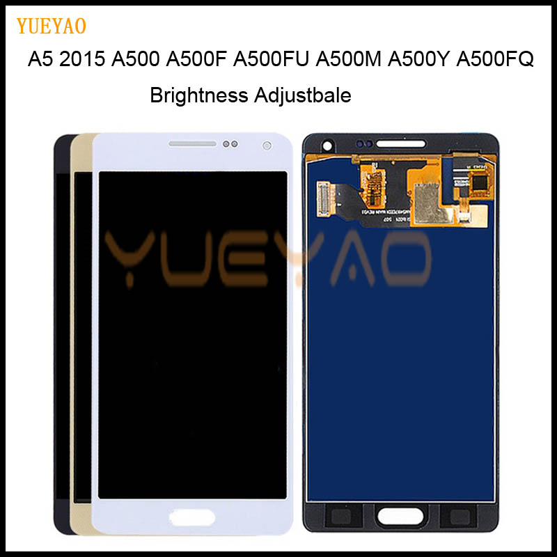 Adjust A5 LCD For Samsung Galaxy A5 2015 A500 A5000 A500F A500FU A500M A500Y A500FQ Touch Screen Digitizer+LCD Display AssemblyAdjust A5 LCD For Samsung Galaxy A5 2015 A500 A5000 A500F A500FU A500M A500Y A500FQ Touch Screen Digitizer+LCD Display Assembly