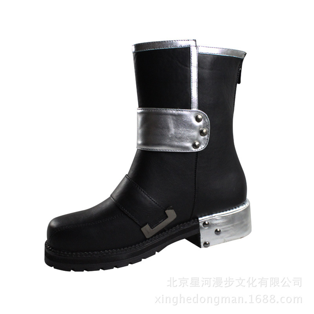 Brdwn Sword Art Online SAO Men 39 s Kirigaya Kazuto Kirito Cosplay Shoes Short Boots in Shoes from Novelty amp Special Use