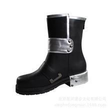 Brdwn Sword Art Online SAO Men's Kirigaya Kazuto Kirito Cosplay Shoes Short Boots цена в Москве и Питере