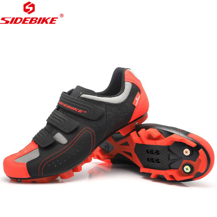 SIDEBIKE Cycling Shoes MTB Man Women Racing Bicycle Shoes Mountain Bike Sneakers Professional Self-locking PU Breathable Shoes цена
