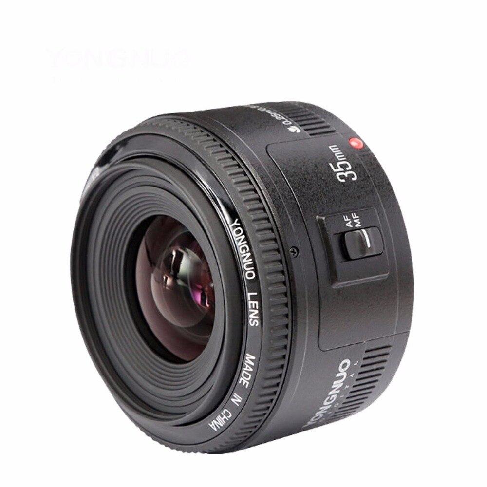 Objectif YONGNUO YN35mm F2.0 F2N, objectif YN50mm pour Nikon F Mount D7100 D3200 D3300 D3100 D5100 D90 appareil photo reflex numérique, pour appareil photo reflex numérique Canon - 4