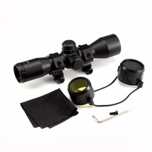 Outdoor Sports Tactical 4X32 Compact Scope Rangefinder Reticle Hunting Riflescopes With Adjustable Rail Mounts