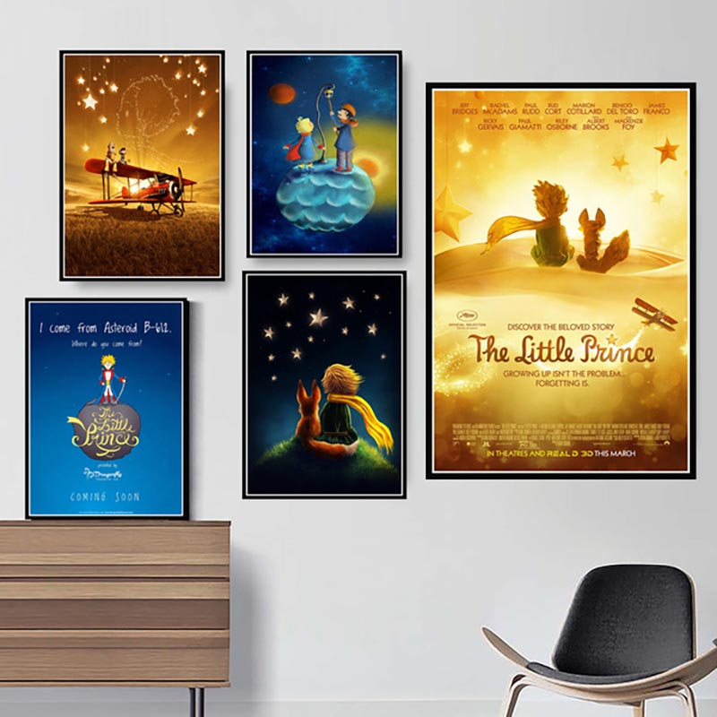 Modular Pictures Canvas Painting Poster Children Movie Artwork-Printed Home-Decoration