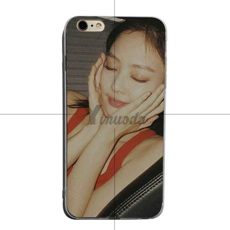 Yinuoda Blackpink Jennie soft tpu โทรศัพท์สำหรับ iPhone X XS XR XsMax 8 plus 6 6 วินาที 7 7 plus Mobilecover