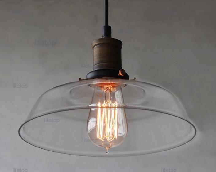 Lampade In Vetro A Sospensione : Filamento della lampadina a sospensione illuminazione sala da