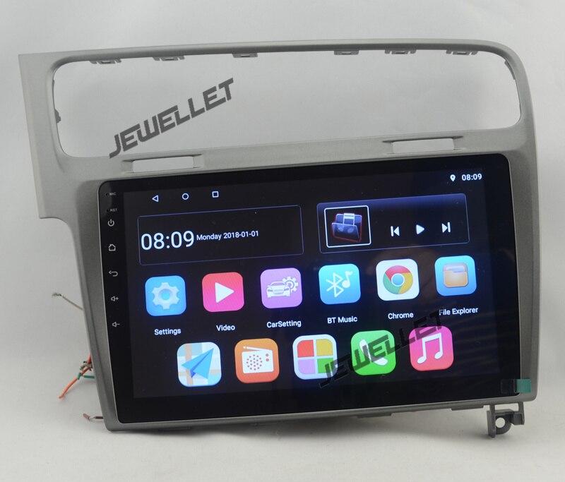 Navigation radio GPS de voiture Android 10.1 de 8.1
