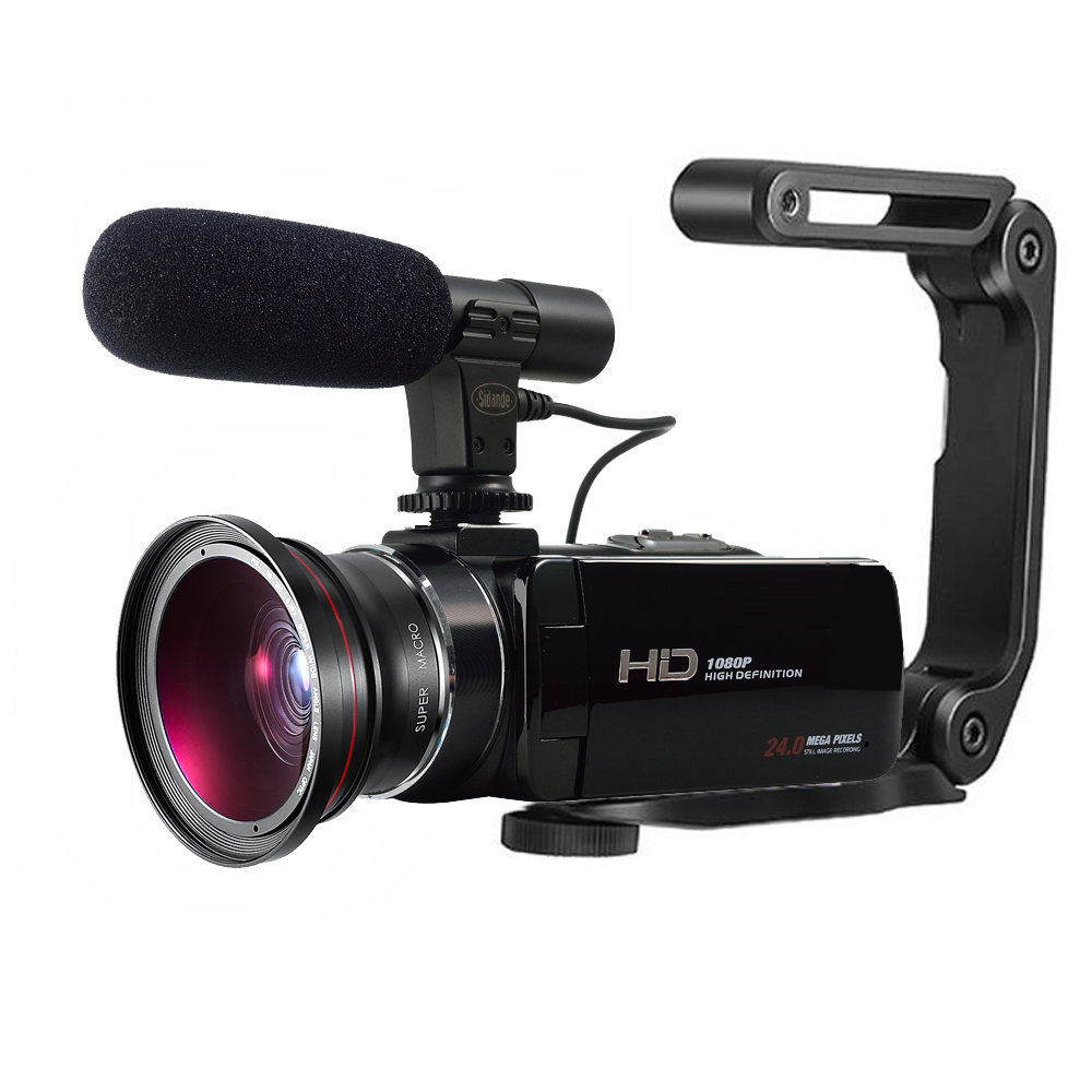 Digital Video Camera full hd 1080P HDV-Z20 WIFI Professional Video Camcorder with 3.0''touch screen 16x digital zoom z80 z85 z20 camera lcd shows screen