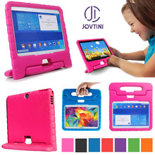 Case For Samsung Galaxy Tab 4 10.1 T530 T531 T535/Tab 3 10.1 P5200 P5210 Tablet Case Kids handle Shock Proof Silicon Case Cover