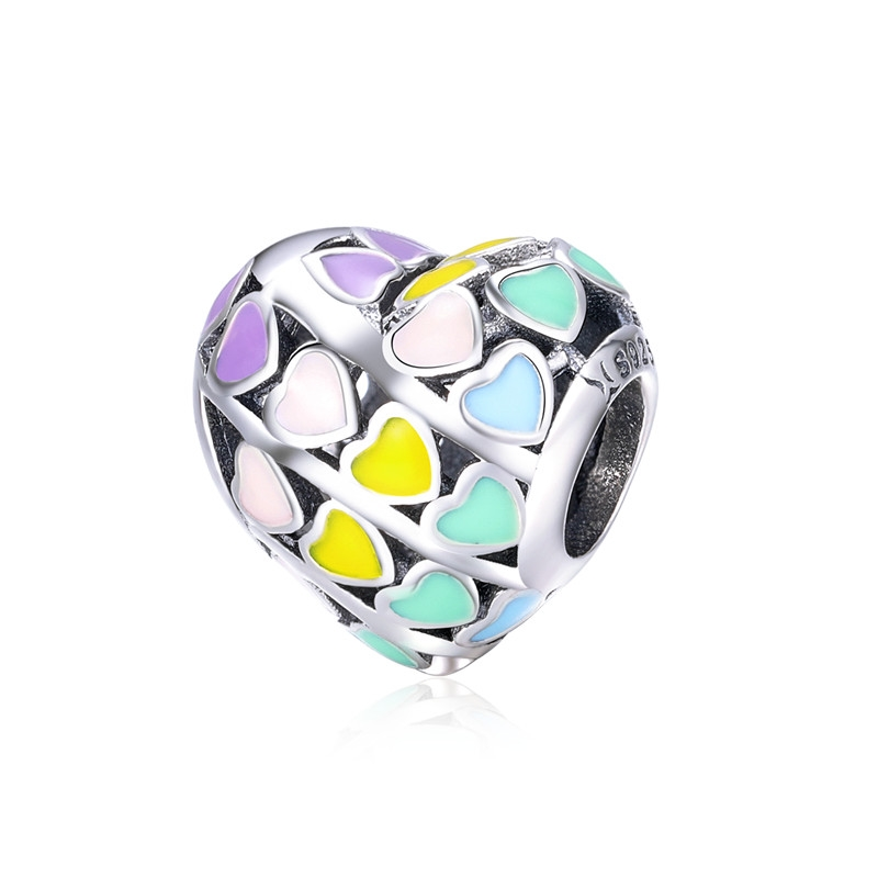 2018 Baru 100% 925 Sterling Silver Kelimpahan Cinta Charm Beads Fit - Perhiasan fashion - Foto 6