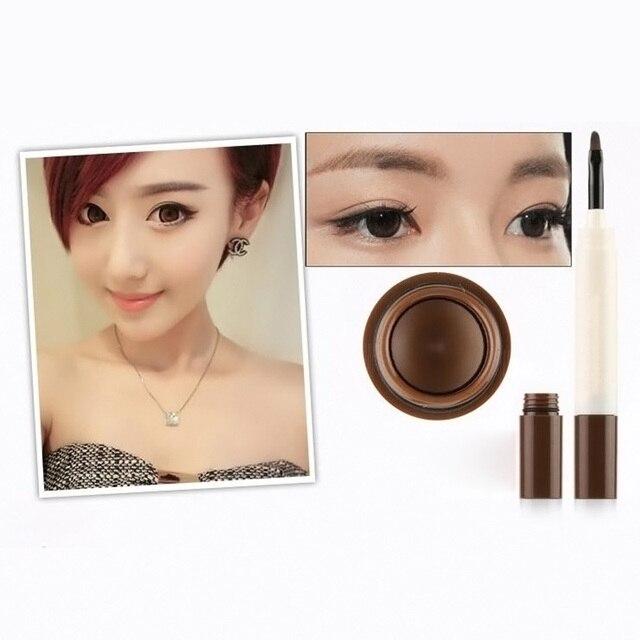 Professional Waterproof Makeup Eyebrow Tint Brows Gel Long Lasting Eyebrows Tattoo Dye Gel Make Up Kit Drop Ship 1