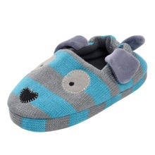 Cute Home Slippers Kids Cartoon Rabbit Style Baby Shoes Soft Cotton Boys Girls Boys Slipper 3 Colors