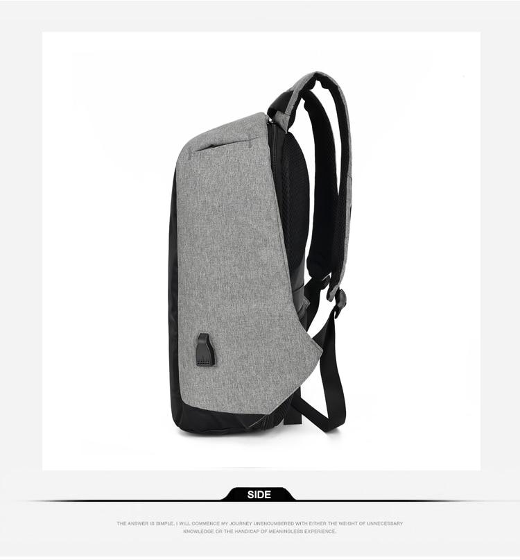 Sac à dos pour ordinateur portable USB 16