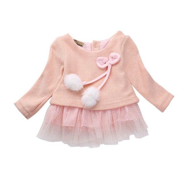 Infant toddler trẻ em dễ thương bé sơ sinh cô gái bow tulle tutu đảng dress quần áo trang phục giản dị