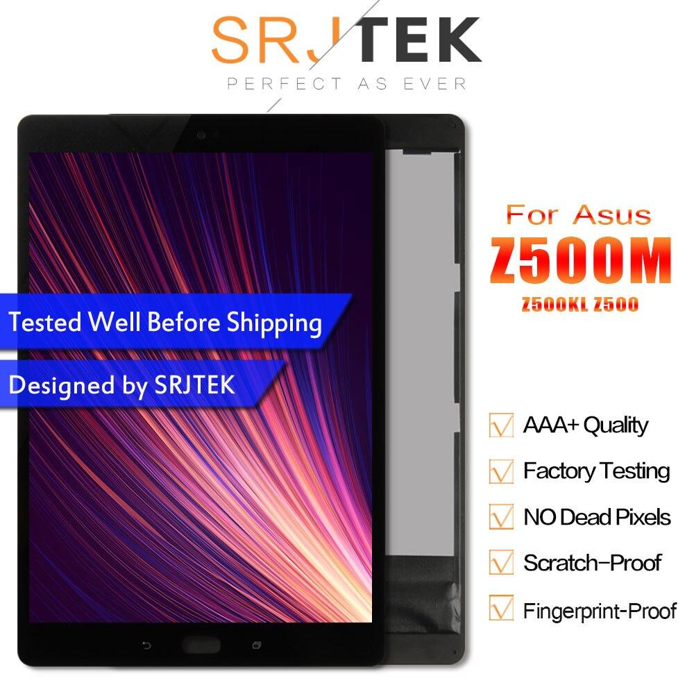 SRJTEK pour ASUS ZenPad 3 S 10 Z500M P027 Z500KL P001 Z500 LCD écran tactile capteur numériseur tablette PC assemblage