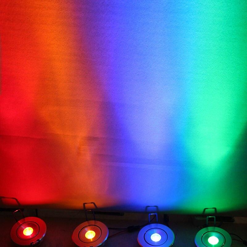 Անվճար առաքում 3W LED Recess Downlight Cabinet Lamp - Ներքին լուսավորություն - Լուսանկար 2