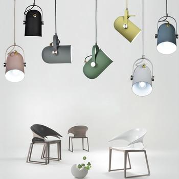 Nordic Minimalismo droplight Angolo regolabile E27 piccole luci a sospensione, decorazioni Per La Casa lampada di illuminazione e Bar Vetrina luce del punto