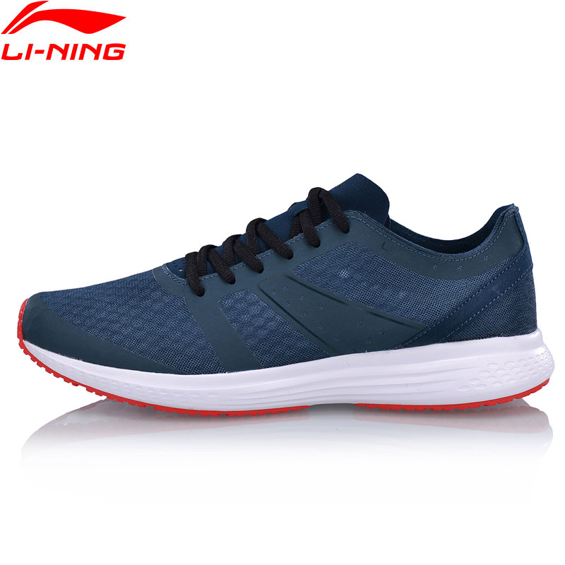 Li Ning Men SPEED STAR V2 Cushion Running Shoes Light Breathable LiNing Sport Shoes Comfort Sneakers