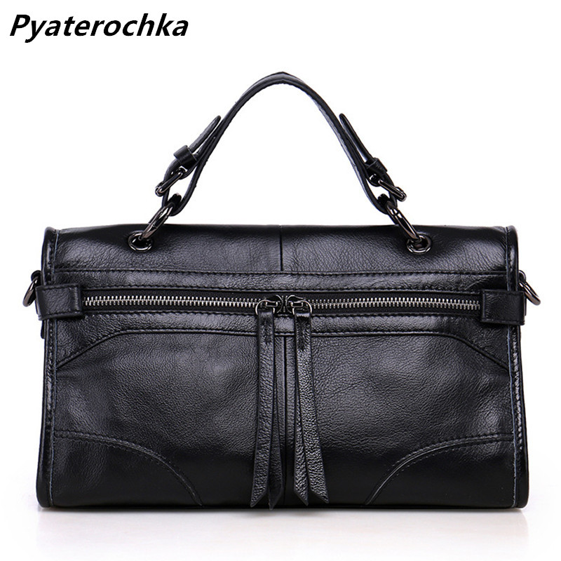 Pyaterochka Women Handbag Genuine Leather Shoulder Bag Famous Brand Luxury Ladies Hand Bags Cheap High Quality Crossbody Bag Bao woman packet handbag ladies bag clutch ladies luxury clutch famous brand crossbody bags high quality shoulder women leather bag