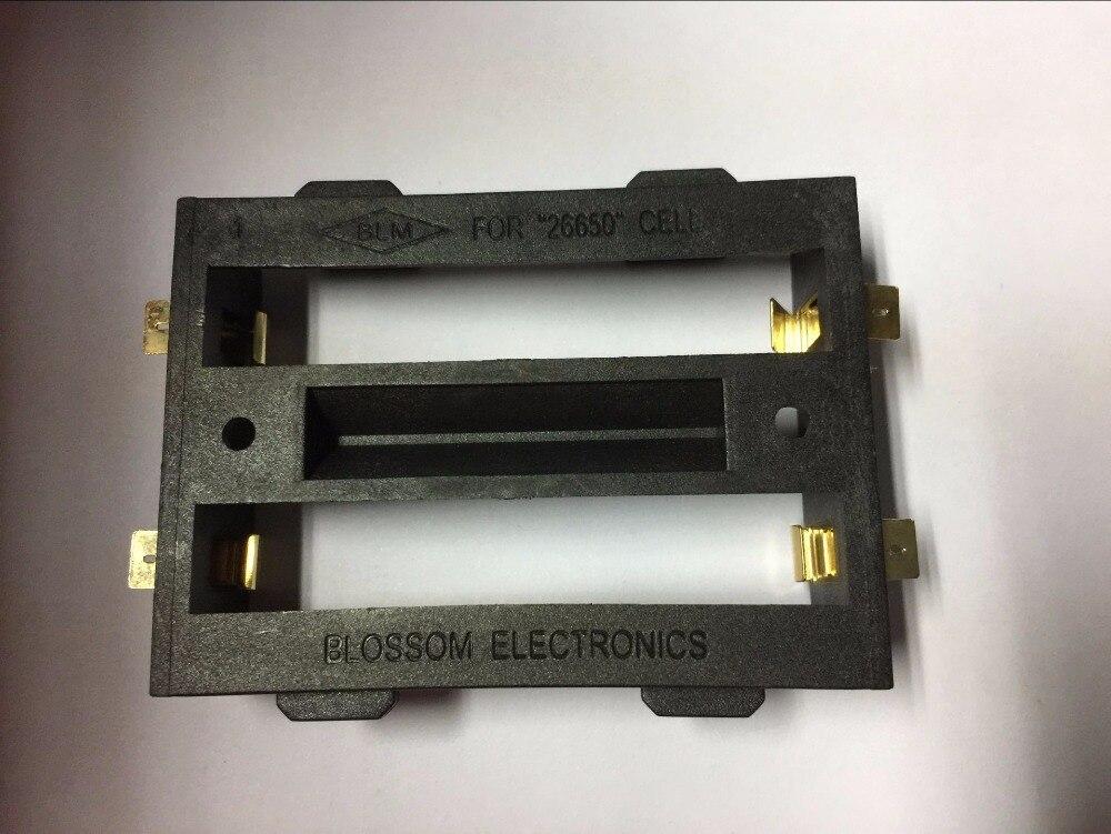 Bronze 26650 Caixa de Armazenamento Da Bateria TBH-26650-2C-SMT