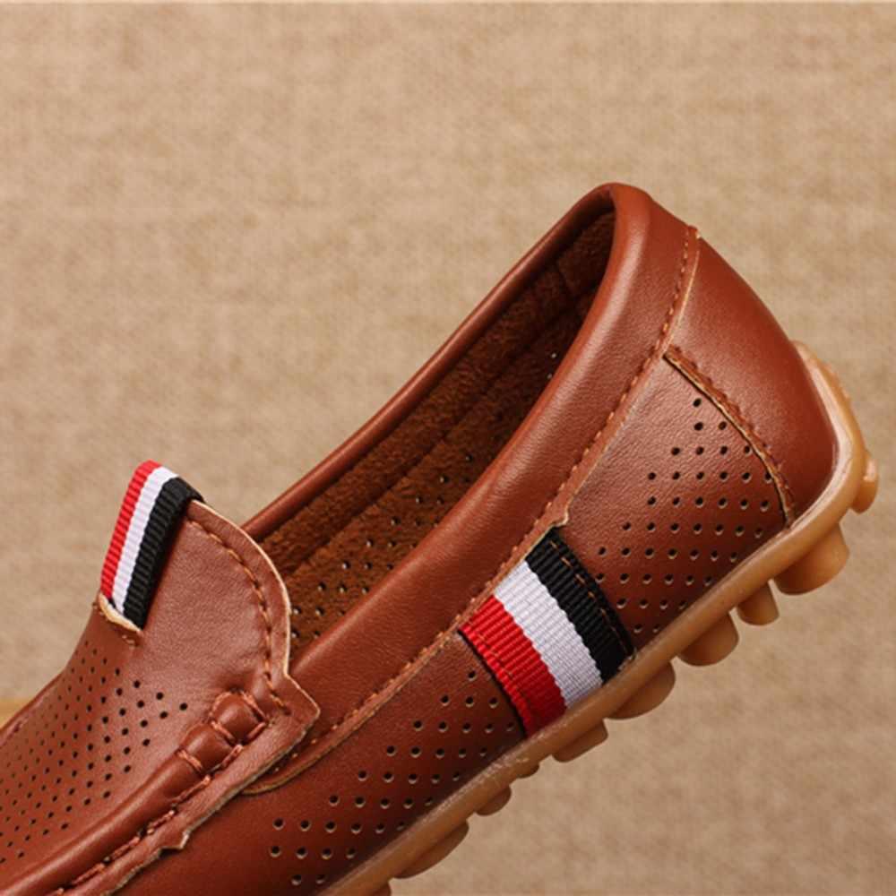 Erkek ayakkabı günlük mokasen ayakkabı spor ayakkabılar erkek sneakers çocuk ayakkabı erkek hakiki deri ayakkabı sonbahar 2019 #30