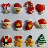 נושא חג המולד סנטה קלאוס cartoon עובש עובש שוקולד בעבודת יד
